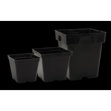 Black Plastic Pot 5.5