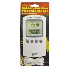 Active Air Indoor-Outdoor Thermometer w/Hygrometer